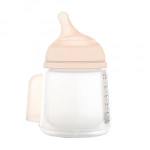 Suavinex ZERO.ZERO Fles Anti-koliek Adaptable Flow (180 ml)