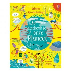 Usborne Flapjesboek Zo bescherm je onze planeet