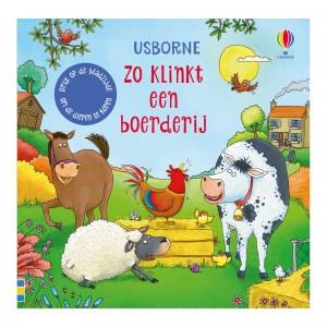 Usborne Geluidenboekje Zo klinkt een boerderij