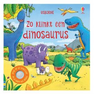 Usborne Geluidenboekje Zo klinkt een dinosaurus