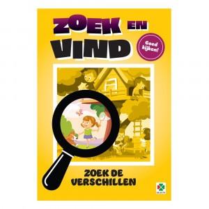 Selecta Doeboek Zoek en Vind: Zoek de verschillen