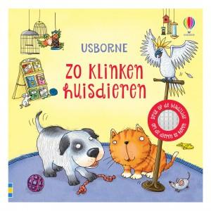 Usborne Geluidenboekje Zo klinken huisdieren