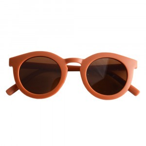 Grech & co. 'Sustainable Sunnies' Zonnebril Kind Rust