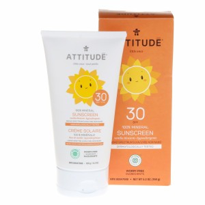 Attitude Little Ones Zonnecrème Vanille SPF 30 (150 ml)