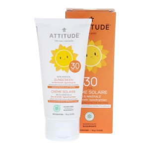 Attitude Little Ones Zonnecrème Vanille SPF 30 (75ml)