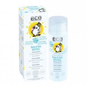 Eco Cosmetics Baby & Kids Zonnecrème SPF50 (parfumvrij)  50ml