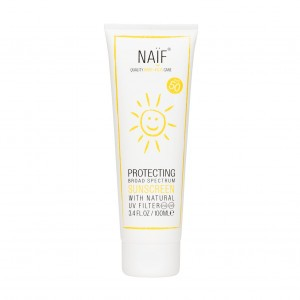 Naïf Zonnecreme Factor 50, 100 ml