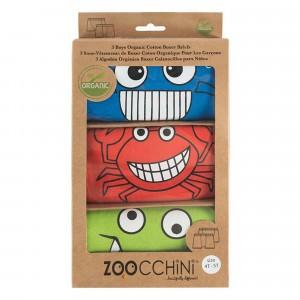 Zoocchini Onderbroekjes Boy Chompy Chompers (3 stuks)