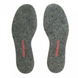 Woolpower Vilten Inlegzooltjes Adults - Recycled Grey