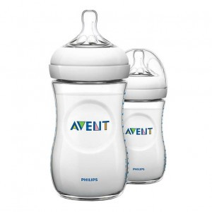 Avent Natural Zuigfles 260 ml  Duopack