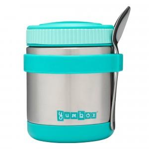 Yumbox Thermosbox met lepel - Zuppa Caicos Aqua