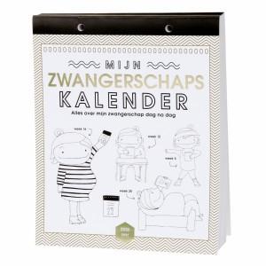 Lannoo Boek Mama Baas 'Zwangerschapskalender'