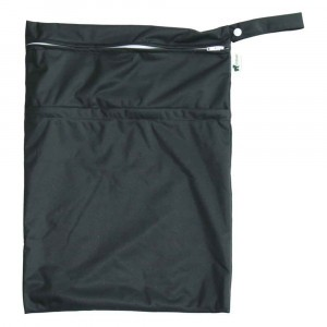 Little Lamb Dubbele Wetbag Large Black